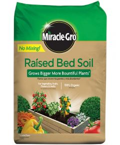 Miracle-Gro 1.5 Cu Ft Organic Raised Bed Soil