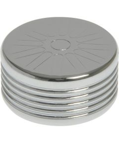 Chrome Spoke Bolt Cap for Socket Head Fasteners (1/4 in.), 1 Pieces