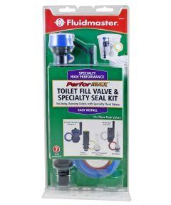 Fluidmaster PerforMAX Toilet Fill Valve and Seal Kit