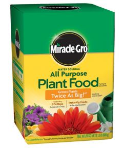 Miracle-Gro 1.5 lb. Water Soluble All Purpose Plant Food, 24-8-16