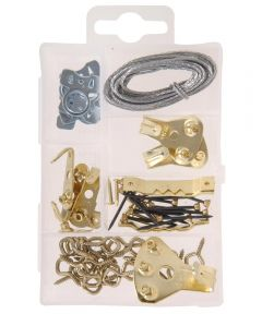 Heavy Duty Picture Hanger Assortment Small Kit
