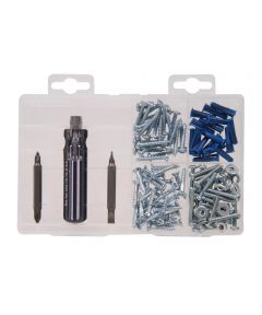 Screws with Screwdriver Kit Medium
