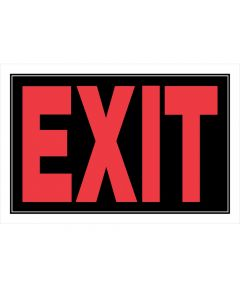 Exit Sign 8 in. X 12 in.