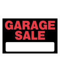 Garage Sale Sign, 8 x 12, Plastic