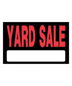 Yard Sale Sign 8 in. X 12 in.