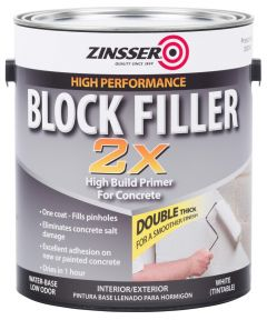 1 Gallon Zinsser Block Filler 2X
