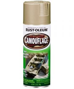 Specialty Camouflage Spray Paint, 12 oz., Sand