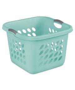 Sterilite 12 Gallon Ultra Square Laundry Basket, Aqua