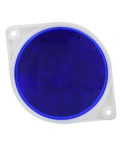 Adhesive 3 in. Reflector Blue
