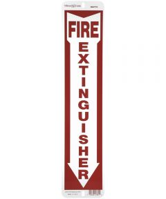 Fire Extinguisher Sign 4 in. X 18 in.