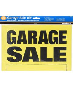 Garage Sale Kit 8 in. X 12 in.