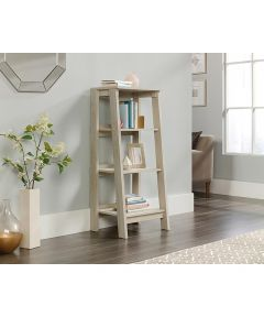 Trestle 3-Shelf Bookcase, Chalked Chestnut Finish