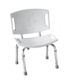 Home Care White Shower Seat
