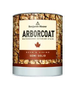 1 Gallon Arborcoat Exterior Waterborne Semi-Solid Stain, White