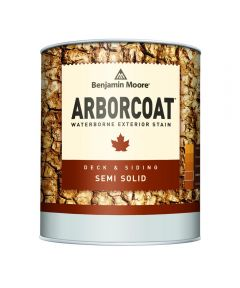 1 Gallon Arborcoat Exterior Waterborne Semi-Solid Stain, Tint Base