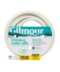 Gilmour 1/2 in. x 25 ft. 5 Ply Marine & Recreation Drinking Water Safe Water Hose
