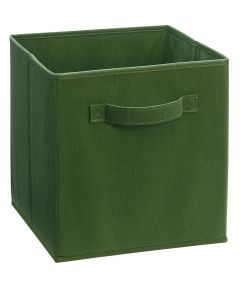 Cubeicals Fabric Drawer, Dark Green