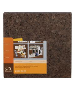 12 in. x 12 in. x 1/4 in. Dark Cork Tiles 4 Pack