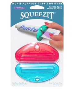 Evriholder SqueezIt Toothpaste Tube Squeezer, Assorted Colors, 2 Pack