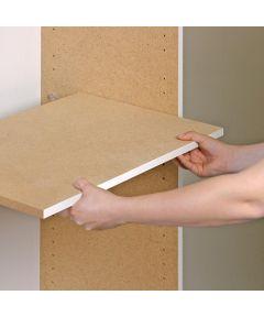 5/8 in. x 23 in. x 19-5/8 in. Shelf for Dateline Storage Cabinet