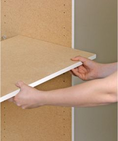5/8 in. x 34-3/4 in. x 17-7/8 in. Shelf for Dateline Storage Cabinet