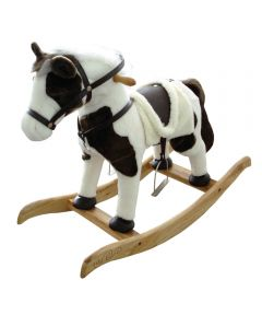 Santa's Forest 24 in. Toy Rocking Horse