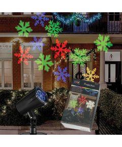 Santa's Forest 5 Christmas Slide Motion Projector, LED Lamp