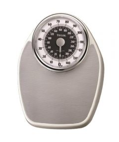 Taylor Large Analog Dial Bathroom Scale, 330 lb. Capacity
