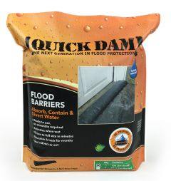 Quick Dam Self Activating Flood Barrier, 10 ft. Length