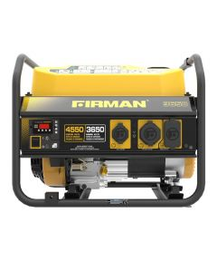 Firman 4550/3650 Watt Recoil Start Gas Portable Generator