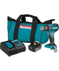 Makita 18V LXT Brushless Cordless 1/2 in. Driver-Drill Kit with 3.0Ah Battery & Charger