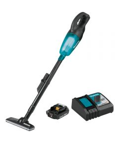 Makita 18V LXT Compact Cordless Vacuum Kit with 2.0Ah Battery & Charger