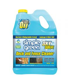 Simple Green 1 Gallon Oxy Solve Deck and Fence Cleaner