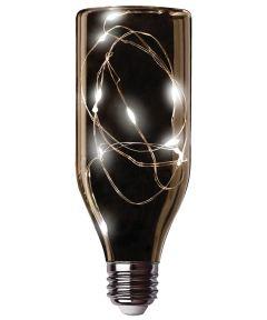 Feit LED Fairy Light Soft White Bottle Bulb, E26 Standard Medium Base