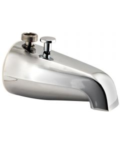 Tub Spout with Diverter, Fits 3/4 in. Thread, 1/2 in. Thread, 1/2 in. Copper Slip, 1/2 in. Thread in Nose