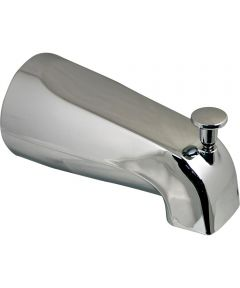 Tub Spout with Diverter, Front 1/2 in. Thread