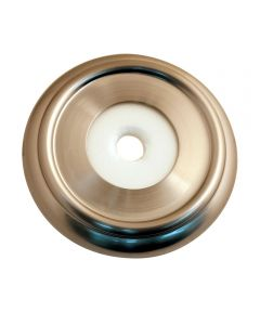 Decorative Tub Spout Flange, Brushed Nickel