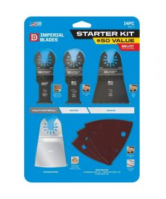 Imperial Blades 14-Piece One-Fit Starter Blade Kit Variety Pack