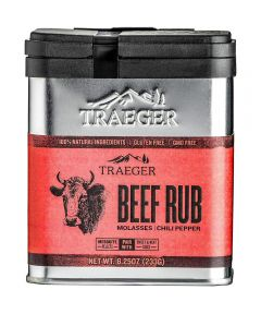 Beef Rub Molasses & Chili Pepper Seasoning, Gluten & GMO Free, 8.25 oz.