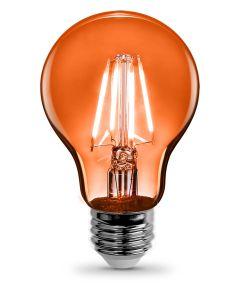 Feit Electric 4.5 Watt E26 A19 Orange LED Dimmable Light Bulb