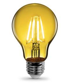 Feit Electric 4.5 Watt E26 A19 Yellow LED Dimmable Light Bulb