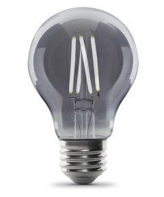 Feit Electric 4 Watt E26 AT19 5000K Daylight Smoke Glass LED Dimmable Vintage Light Bulb