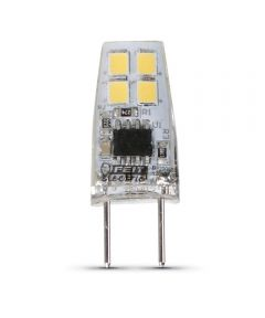 Feit Electric 2 Watt G8 T4 3000K Warm White LED Dimmable Light Bulb
