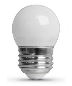 Feit Electric 0.6 Watt E26 S11 Frosted 2700K Soft White LED Non-Dimmable Night Light Bulb