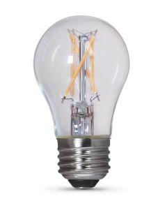 Feit Electric 2.7 Watt E26 A15 2700K Soft White LED Dimmable Light Bulbs, 2 Pack