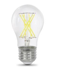 Feit Electric 8 Watt E26 A15 Clear 5000K Daylight LED Dimmable Light Bulbs, 2 Pack