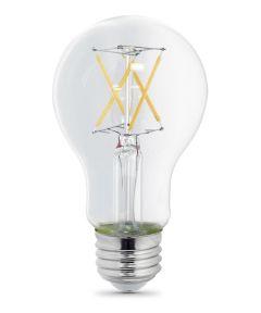 Feit Electric 5 Watt E26 A19 5000K Daylight LED Dimmable Light Bulbs, 2 Pack