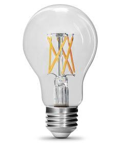 Feit Electric 9 Watt E26 A19 5000K Daylight LED Dimmable Light Bulbs, 2 Pack