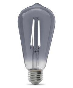 Feit Electric 5.5 Watt E26 ST19 Vintage Smoke 5000K Daylight LED Dimmable Light Bulb