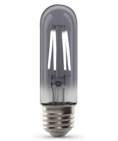 Feit Electric 4 Watt E26 T10 Vintage Smoke 5000K Daylight LED Dimmable Light Bulb